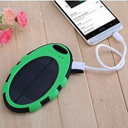 Go-Green Phone Solar Charger (Water-Resistant, Shockproof, Portable)
