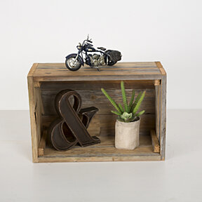 2 Reclaimed Display Crates