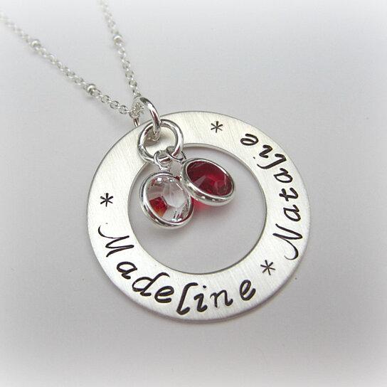Buy kids 39 names necklace grandmother necklace grandmother for Grandmother jewelry you can add to