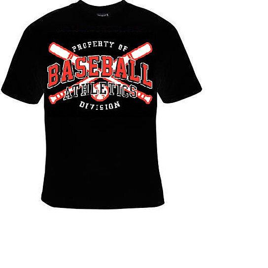 buy t shirts property of baseball athletics divison